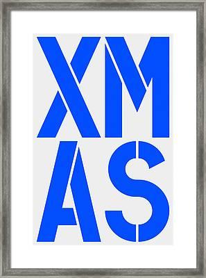 Xmas Framed Print by Three Dots