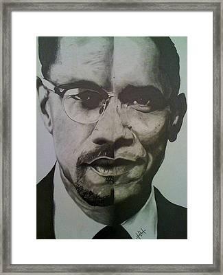 Xobama Framed Print