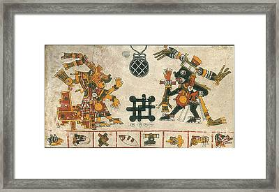 Xochiquetzal Framed Print by Photo Researchers