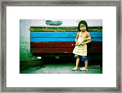 Xp Girl Framed Print