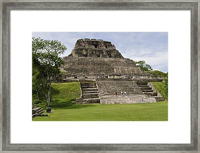 Xunantunich   Framed Print by Glenn Gordon