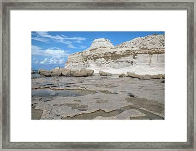 Xwejni Bay - Gozo Framed Print
