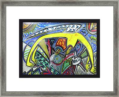 Xxxkull Patterns II Framed Print