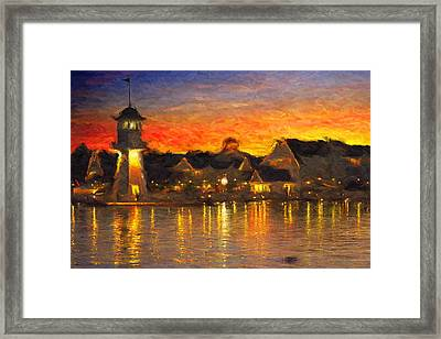 Yacht Club Framed Print by Caito Junqueira