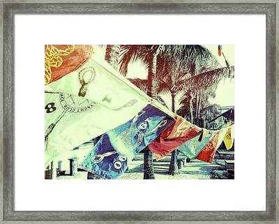 Yacht Club Framed Print by JAMART Photography