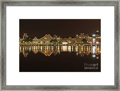 Yacht Club Villas - Walt Disney World Framed Print
