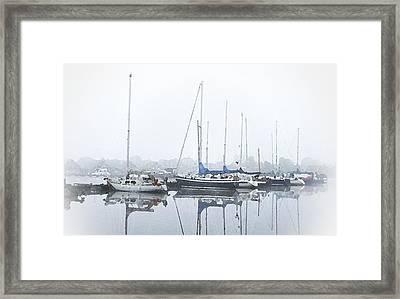 Yachting Club Framed Print by Steve K