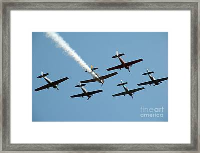 Yak Formation  Framed Print