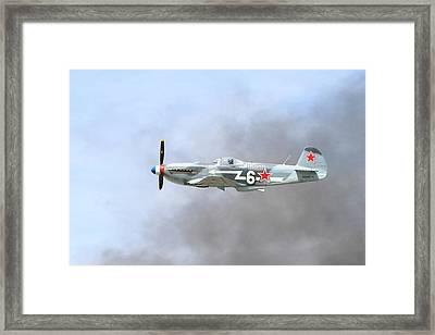 Yak Through The Smoke Framed Print