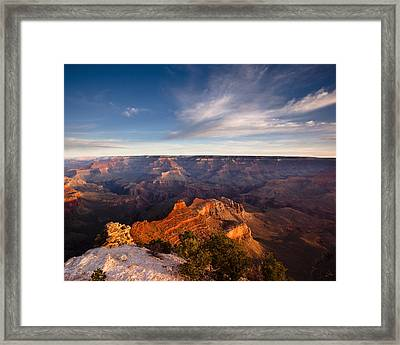 Yaki Point - Grand Canyon National Park Framed Print