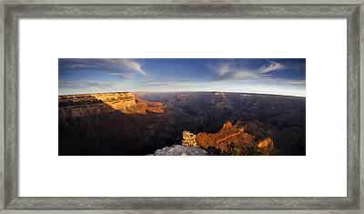 Yaki Point Panorama Framed Print