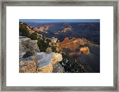 Yaki Point Sunrise Framed Print
