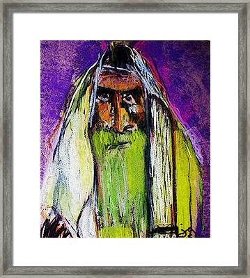 Yakov Framed Print by Joyce Goldin