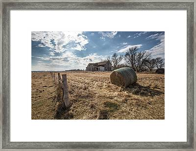 Framed Print featuring the photograph Yale by Aaron J Groen