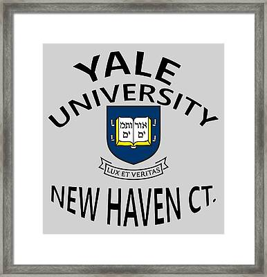 Yale University New Haven Connecticut  Framed Print