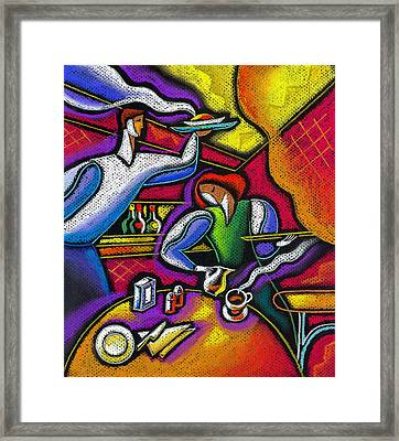 Yam Food And Drink Framed Print