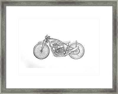 Yamagravel Framed Print