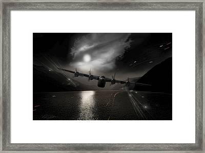 Yangtze Gauntlet Framed Print by Peter Chilelli