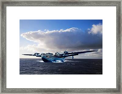 Yankee Clipper Framed Print by Peter Chilelli