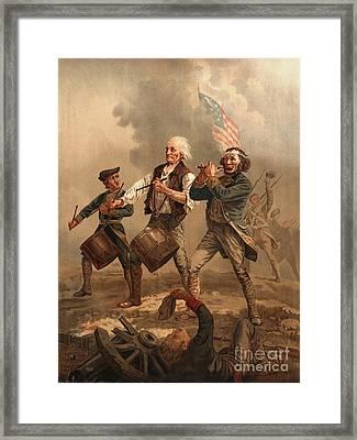 Yankee Doodle 1876 Framed Print