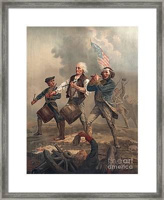 Yankee Doodle Or The Spirit Of 76 Framed Print