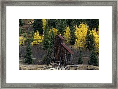 Yankee Girl Mine - 8764 Framed Print
