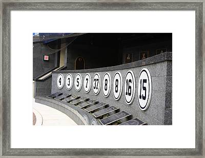 Yankee Greats Framed Print