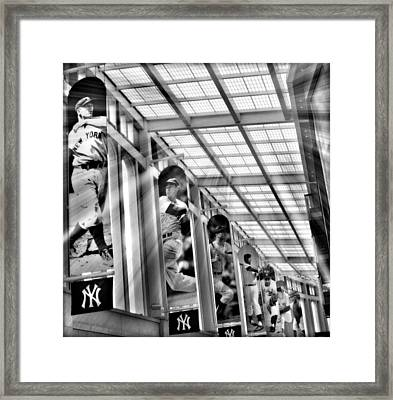 Yankee Immortals II Framed Print