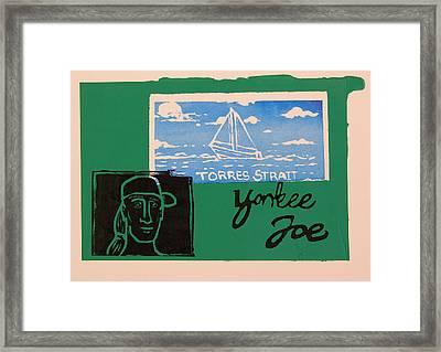Yankee Joe 2 Framed Print by Joe Michelli
