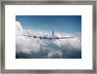 Yankee Lady B-17 Framed Print