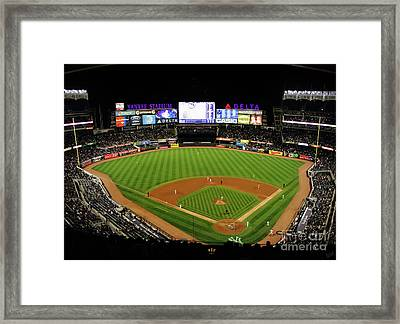 Yankee Stadium 1 Framed Print by Nishanth Gopinathan