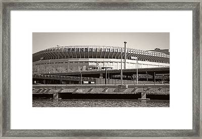 Yankee Stadium    1923  -  2008 Framed Print by Daniel Hagerman