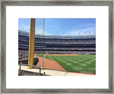 Yankee Stadium_right Field1 Framed Print by All Island Promos