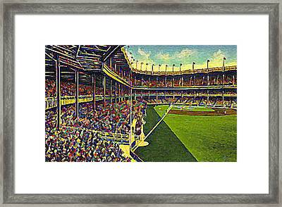 Yankee Stadium From Right Field 1937 Framed Print