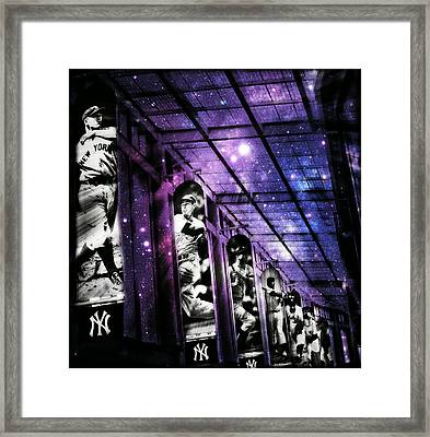 Yankee Immortals IIi Framed Print