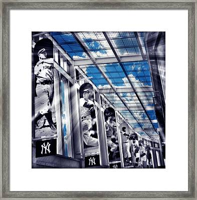 Yankee Immortals Iv Framed Print