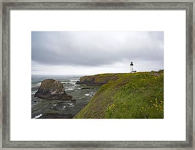 Yaquina Head Framed Print