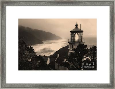 Heceta Head Lighthouse Oregon 2 Framed Print