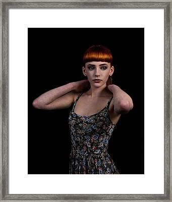 Yasmin Arms Raised Framed Print