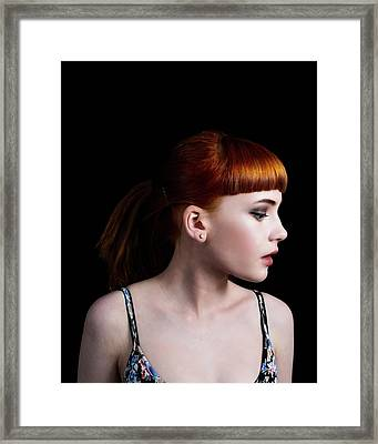 Yasmin Studio Right Framed Print
