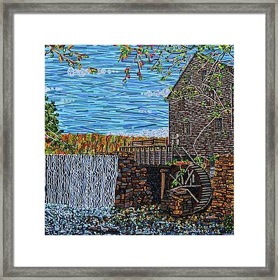 Yates Mill Framed Print by Micah Mullen