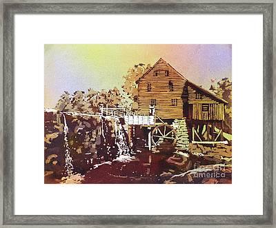 Yates Mill Park Framed Print by Ryan Fox