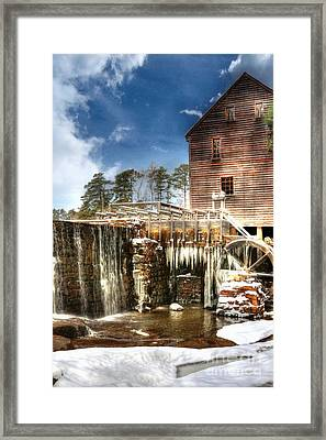 Yates Mill Pond Framed Print by Benanne Stiens