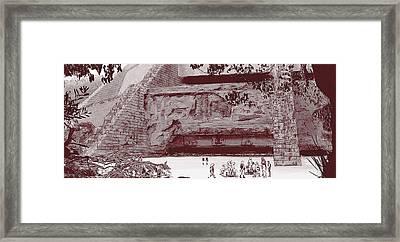 Yavin Temple Framed Print by Kurt Ramschissel