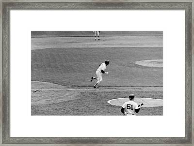 Yaz's Final Jaunt... Framed Print by Mike Martin