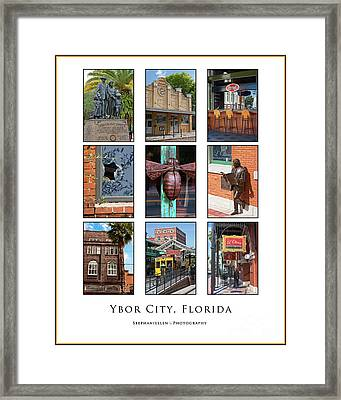 Ybor City Poster Framed Print