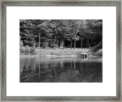 Ye Old Swimming Hole Framed Print