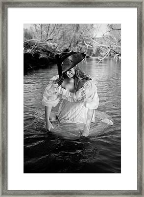 Ye Olde Lass Framed Print by Scott Sawyer