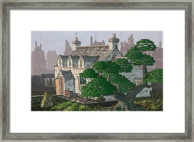 Ye Olde Pub Framed Print by Peter J Sucy