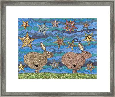 Year Of The Rabbit Framed Print